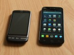 Wiko Darkmoon vs. HTC-Desire classic